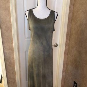 Tie Dye Long summer dress